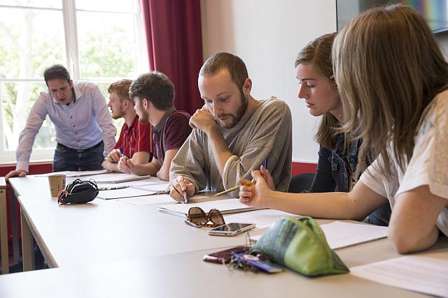 Studenten University College Maastricht