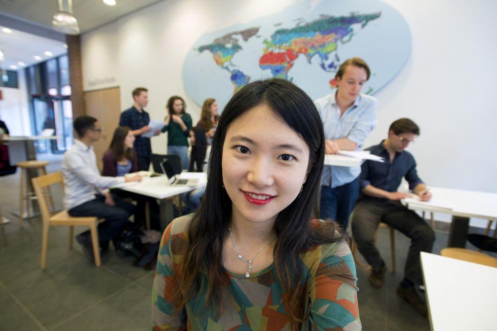 Studenten im Studiengang International Studies
