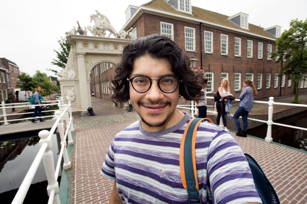 Student an der Uni Leiden