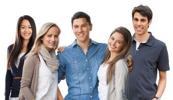 Studenten der Hochschule Fresenius