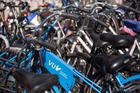 Fahrräder der Vrije Universiteit Amsterdam
