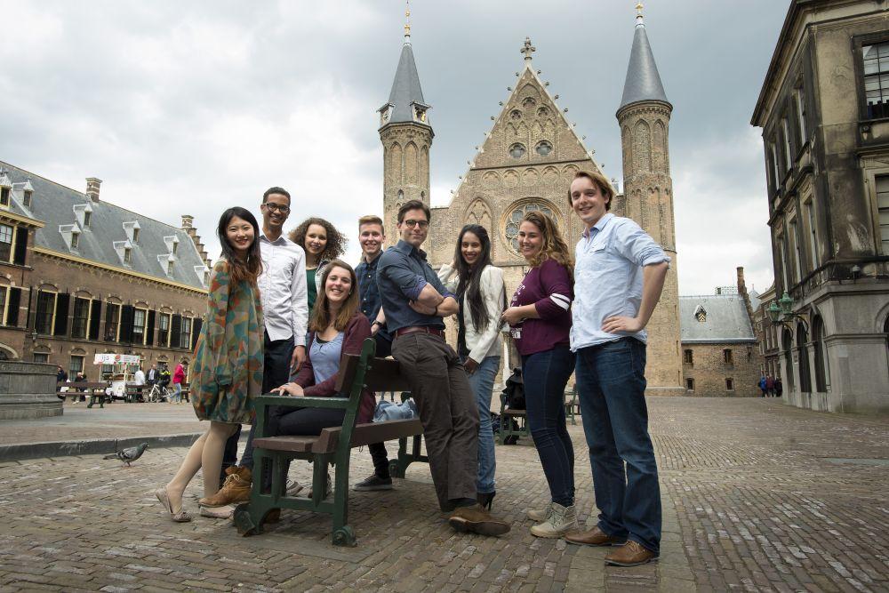 Studenten aus dem Studiengang International Relations and Organisations
